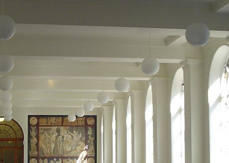University College London. Lighting Consultant: Maurice Brill Lighting Design Consulting Engineer: Fowler Martin Ltd